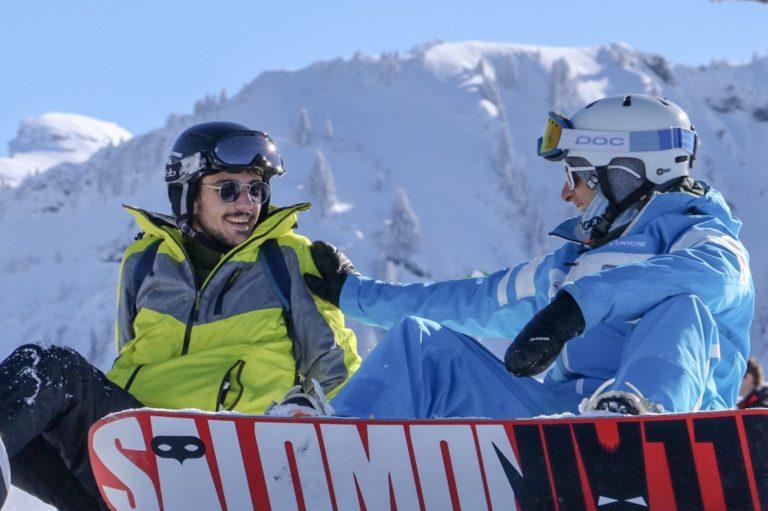 Cours de Snowboard – Samoëns