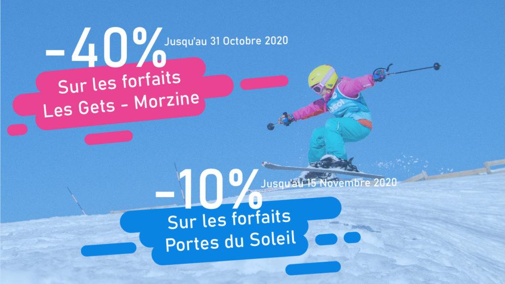 Remises exceptionnelles sur les forfaits Les Gets – Morzine / PDS