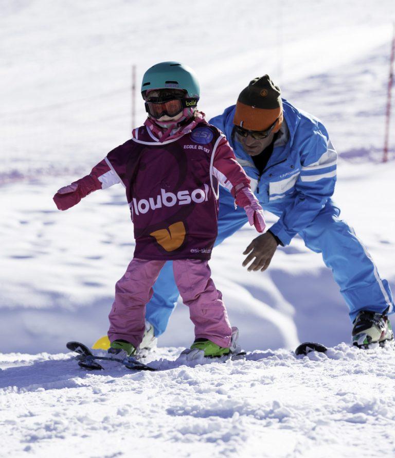 Children's ski classes – Les Gets