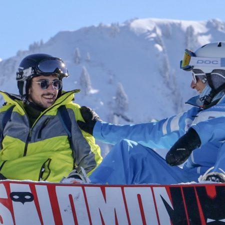 Snowboard lessons – Samoëns