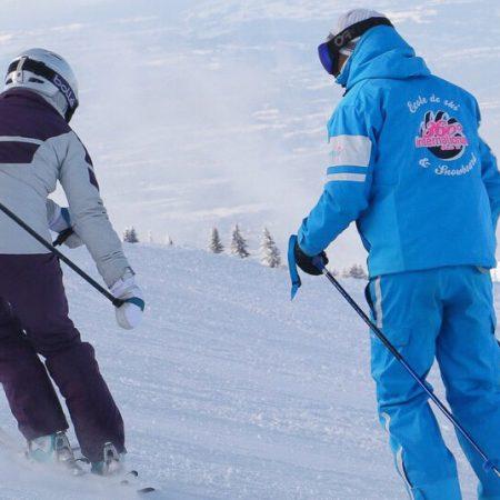 Adult ski lessons – Samoëns