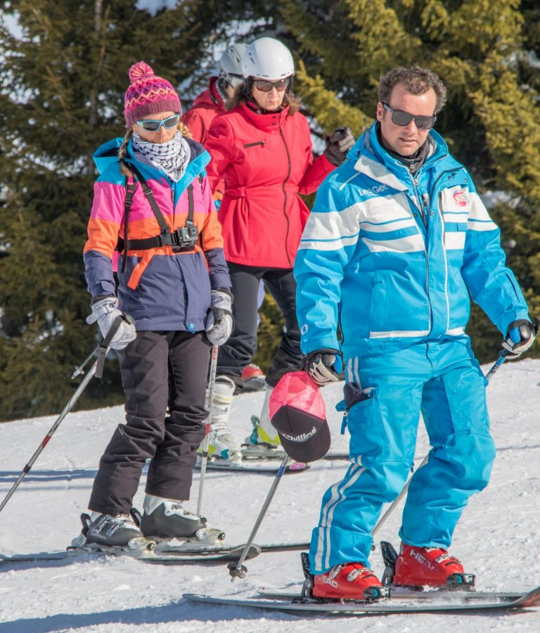 Adult ski lessons – Les Gets
