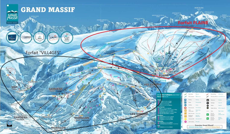grand massif lift passes have changed ecole de ski 360. Black Bedroom Furniture Sets. Home Design Ideas