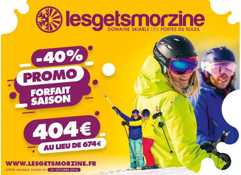 News Forfaits ski Les Gets-Morzine et PDS