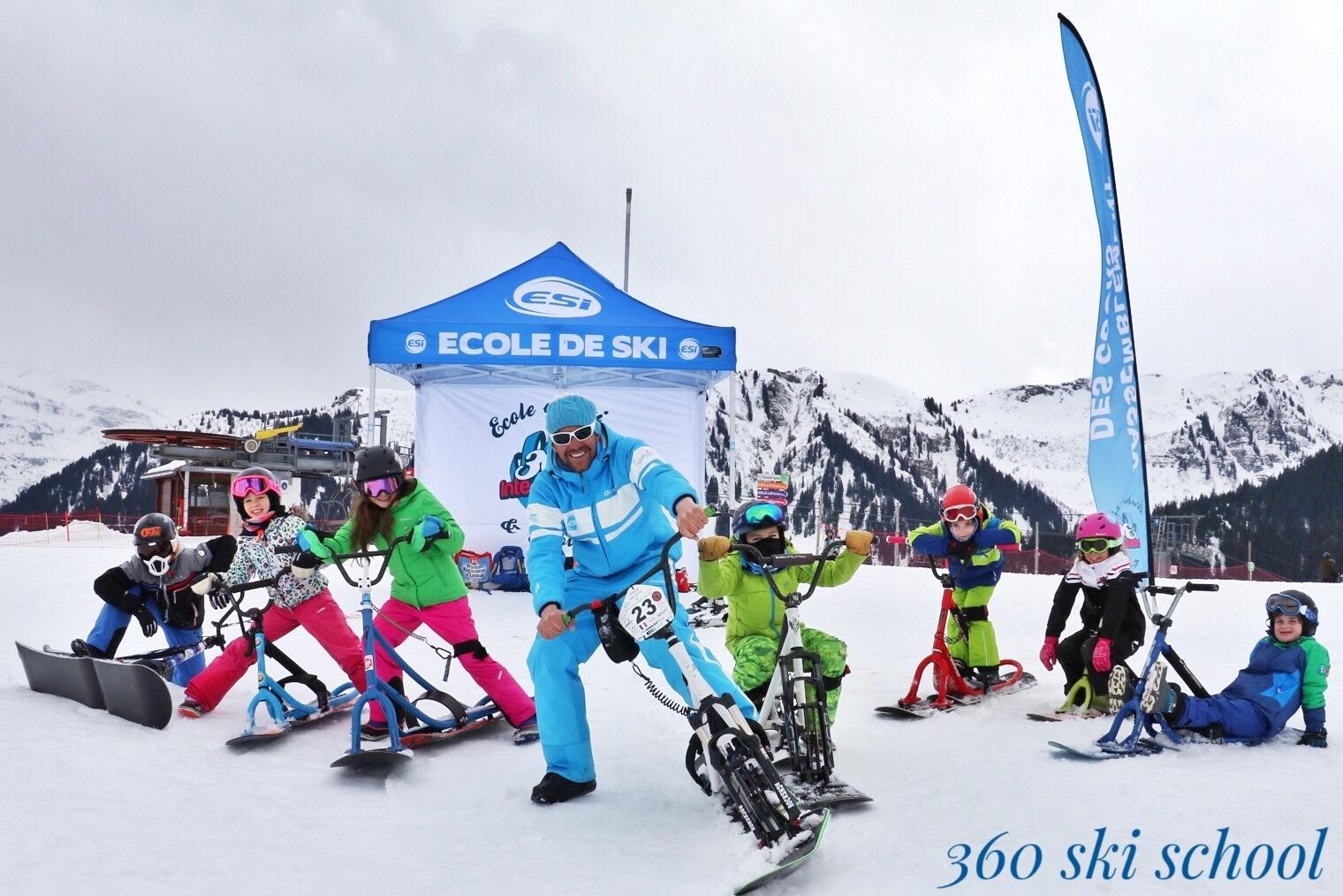 scooter-neige